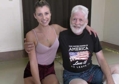 Offense/Defense - Buffy Ellington and Monroe Jamison vs Chuck - #2 - The Female Wrestling Channel