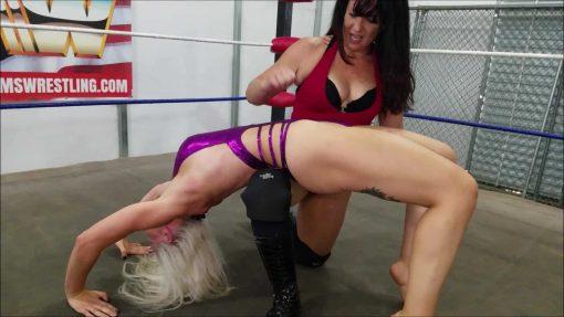Back Breaker - Jezabel Romo vs Platinum Fury - UWW Women's Pro Wrestling
