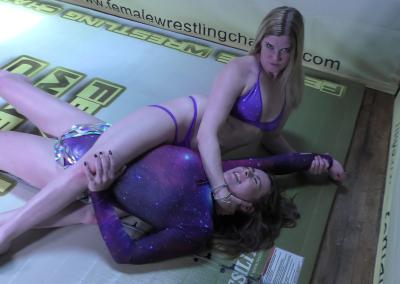 Bodyscissors - When Stars Align - Astra Rayn vs Monroe Jamison - Women's Wrestling Photos - The Female Wrestling Channel