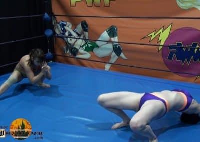 Anarchy vs Asgerda - Real Competitive Women's Wrestling - Wrestling Castle - 2021