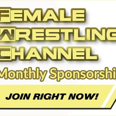 Female Wrestling Channel Monthly Sponsorship