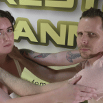 Lock up - Offense/Defense - Astra Rayn vs Johnny Ringo - Real Mixed Wrestling - The Female Wrestling Channel