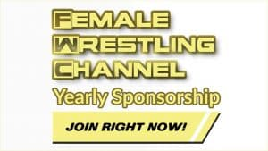 Female Wrestling Channel Yearly Sponsorship