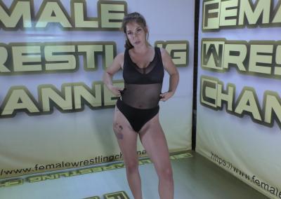 Sassy Kae - Top Contenders - Astra Rayn vs Sassy Kae - Women Wrestling Photoset - 2021