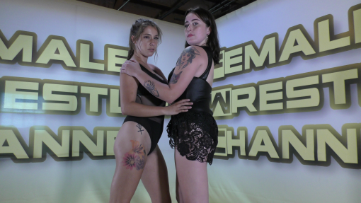 Faceoff - Top Contenders - Astra Rayn vs Sassy Kae - Women Wrestling Photoset - 2021