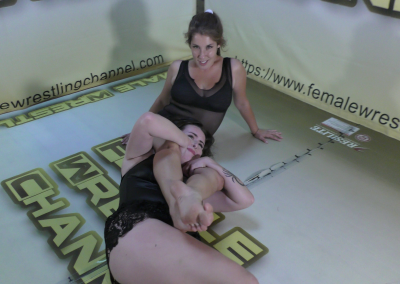 Top Contenders - Astra Rayn vs Sassy Kae - Women Wrestling Photoset - 2021
