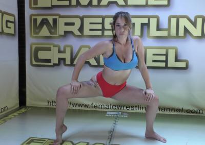 Always Fighting! - Briella Jaden vs Sassy Kae - Women Wrestling Photoset - 2021