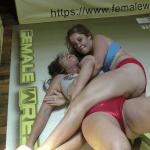 Briella Jaden vs Sassy Kae - 2021 - Competitive Female Bodyscissor