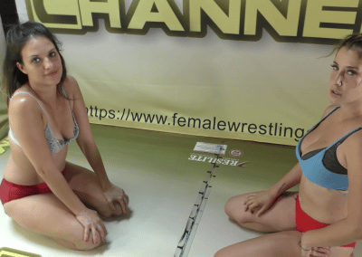 Briella Jaden vs Sassy Kae - 2021 - Competitive Female Wrestling