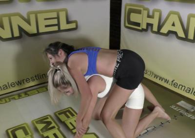 Ellcee Marvela vs Summer Shameless - 2021 - Competitive Female Wrestling