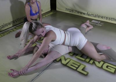Grapevine Pin - Introducing Ellcee Marvela - Women's Wrestling Training - 2021