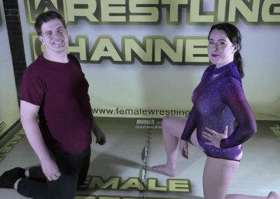 Offense/Defense - Astra Rayn vs Jason - Real Mixed Wrestling - The Female Wrestling Channel